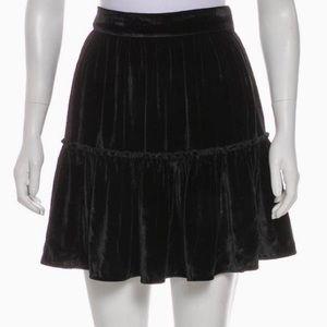 Kate Spade Velvet Mini Skirt ♠️